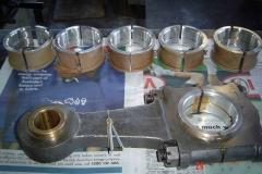 Babbitt White Metal Conrod Bearing 3