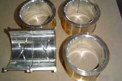 Babbitt White Metal Conrod Bearing Shells