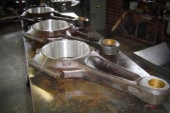 Babbitt White Metal Conrod Bearings