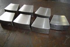 Steel and Babbitt Thrust Pads