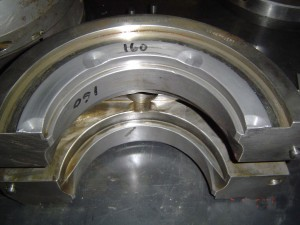White Metal Fan Bearings