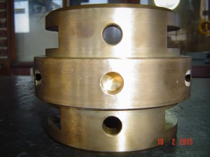 White Metal Lined Pump Bearing